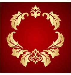 fleur ornament vector image