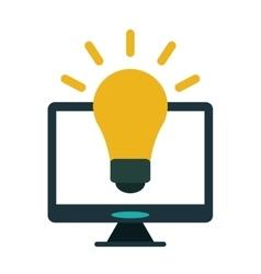 Technology device idea creative vector