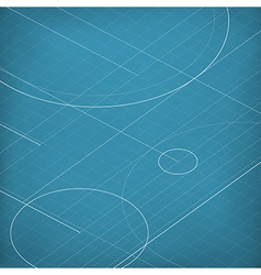 Blueprint abstract background vector
