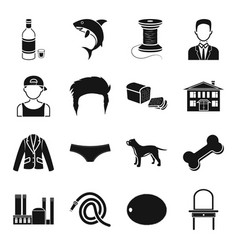 Alcohol atelier appearance and other web icon in vector