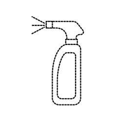 Cleaning spray bottle laundry disinfect fluid vector