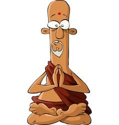 guru vector image