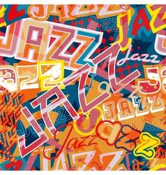 Jazz seamless tile vector