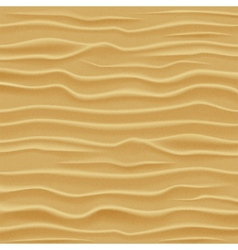 Sand texture Desert sand dunes - view from a vector image