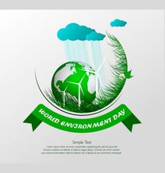 World environment day4 vector