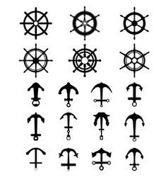 Anchors and rudders vector