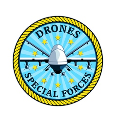 Drones special forces vector