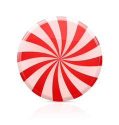 Striped sugar candy vector