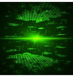 Futuristic digital background technology vector
