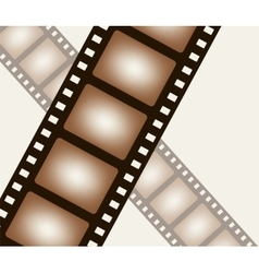 Background from negative film strip vector