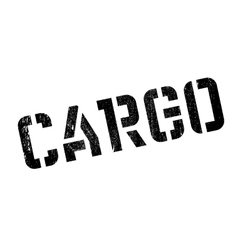 Cargo rubber stamp vector