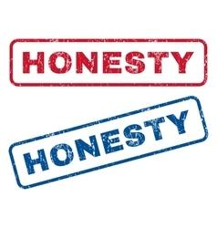 Honesty rubber stamps vector