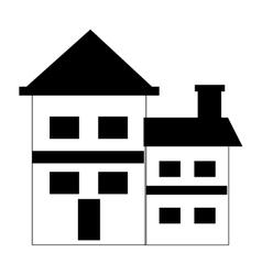 House construction real estate icon vector