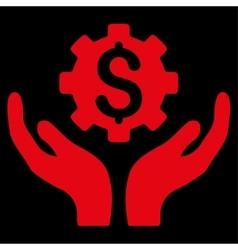 Maintenance price icon vector