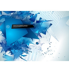 modern poligonal background for brochure and vector image