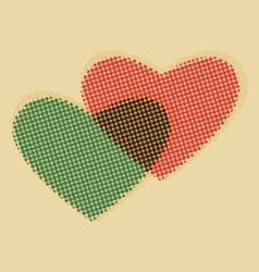 Valentine-hearts vector