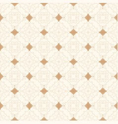 seamless vintage background with ornament vector image