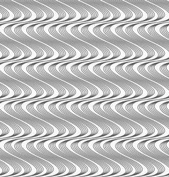 Flat gray with hatched vertical waves vector