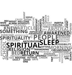 Awareness possibility text word cloud concept vector