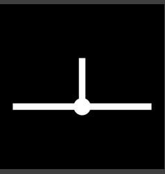 location network segment it is icon vector image vector image