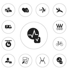 Set of 12 editable complex icons includes symbols vector