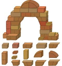 Stones set cartoon vector