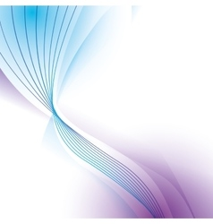Wave wallpaper shiny blue purple background icon vector