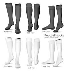 Football socks vector