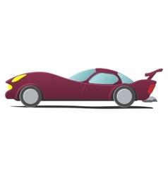 Cartoon sportscar vector image