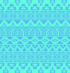 Seamless pattern with aztec ornaments vector