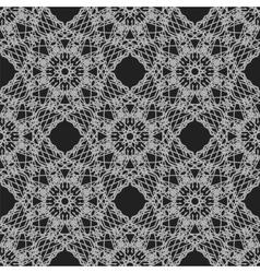 Seamless texture on grey ornamental backdrop vector