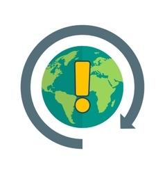 Global Information vector image vector image