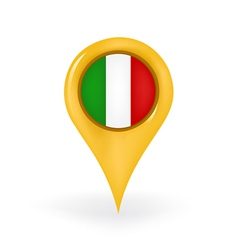 Location Italy vector image