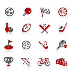 Sports Icons vector image vector image