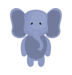 Elephant animal cartoon vector
