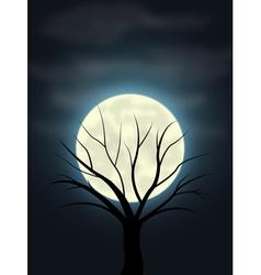Moonlight vector image