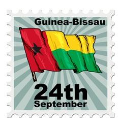 National day of guinea-bissau vector