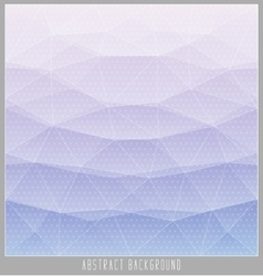 Abstract geometric polygon facet background mosaic vector