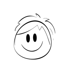 Boy icon kid design graphic vector