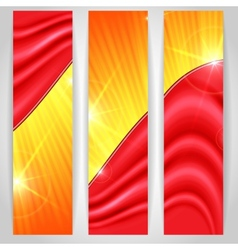 Abstract Colorful Bnner vector image vector image