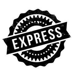 Express stamp rubber grunge vector image