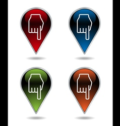 Indicators vector image vector image