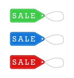Sale labels for promotion vector
