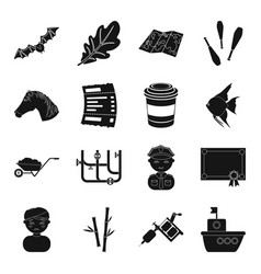 Science profession toy and other web icon in vector