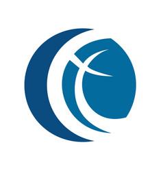 Cross logo design template vector