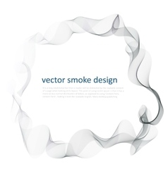 Abstract background with smoke vector