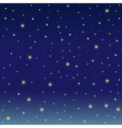 Background simulating the winter night sky vector image