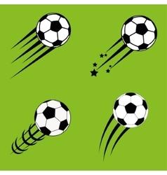 ball of soccer sport design vector image vector image