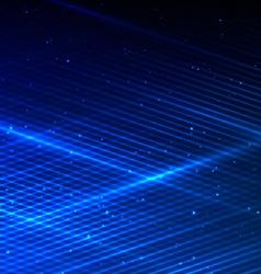 Glowint Lines vector image