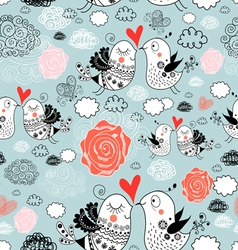 texture of love birds vector image vector image